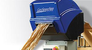 Geospeed 100 Kraft Paper Void Fill Packaging Machine By