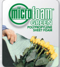 microfoam green pregis polypropylene foam sheets