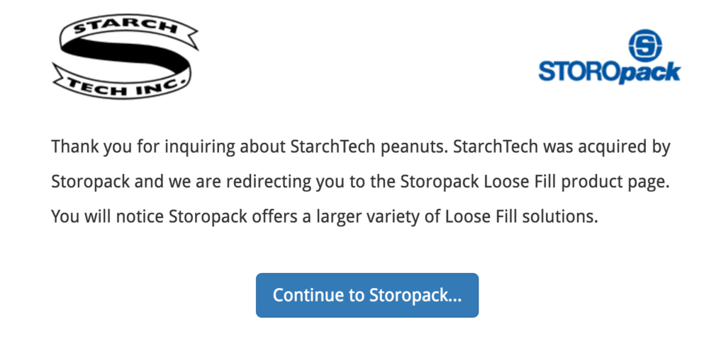 Storopack buys out StarchTech