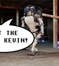 Swearing robot comedy - having bad day